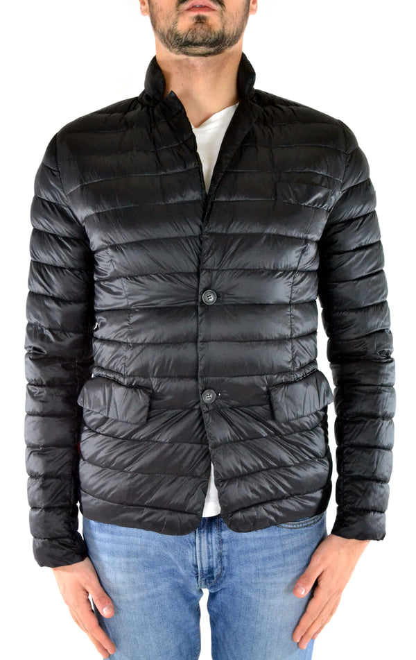 Stuffed jacket W15015 Black RRD - mario gualano