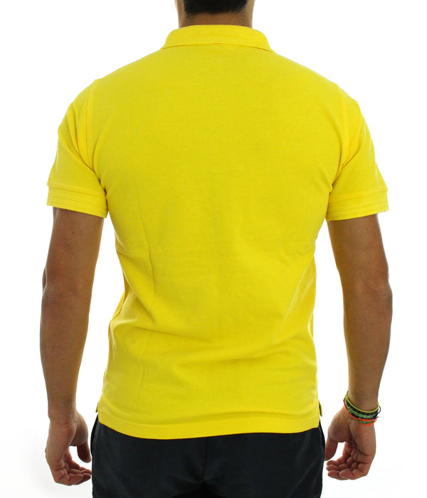 Polo shirt piquet A30103 yellow