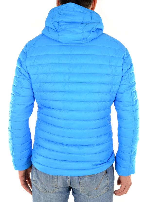 Jacket D3065M GIGA2 Turquoise Save the duck - mario gualano