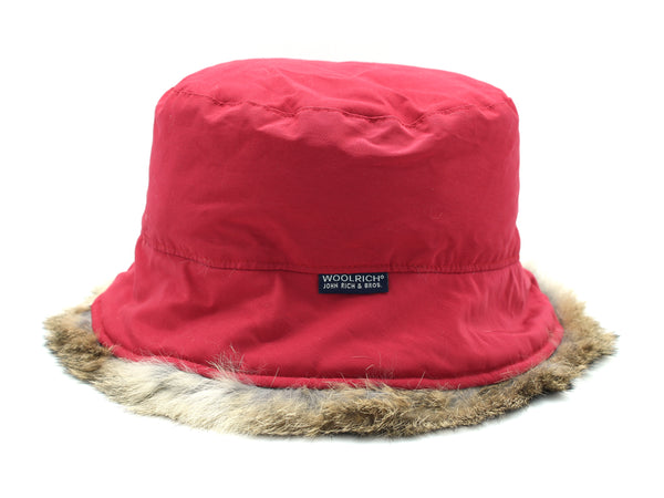 Cappello W'S LOLLY HAT rosso Woolrich - mario gualano