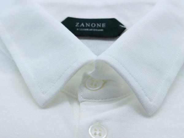 Polo shirt 811818 Z0380 white Zanone -sea gualan