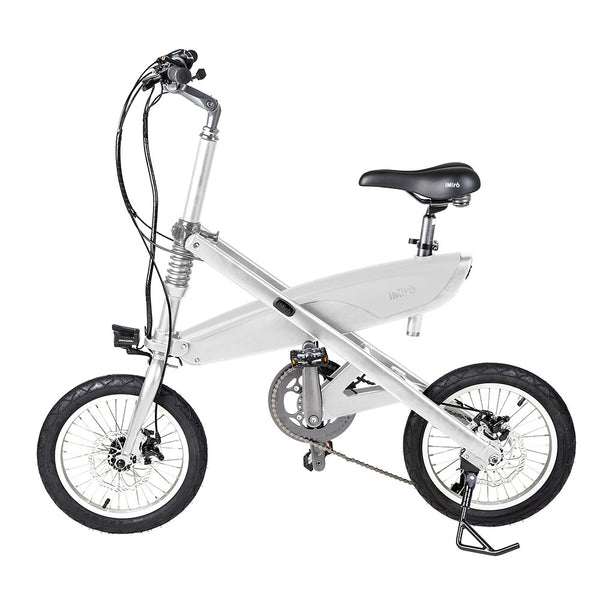 iMiró SIVRAC: The best folding Electric Bike White