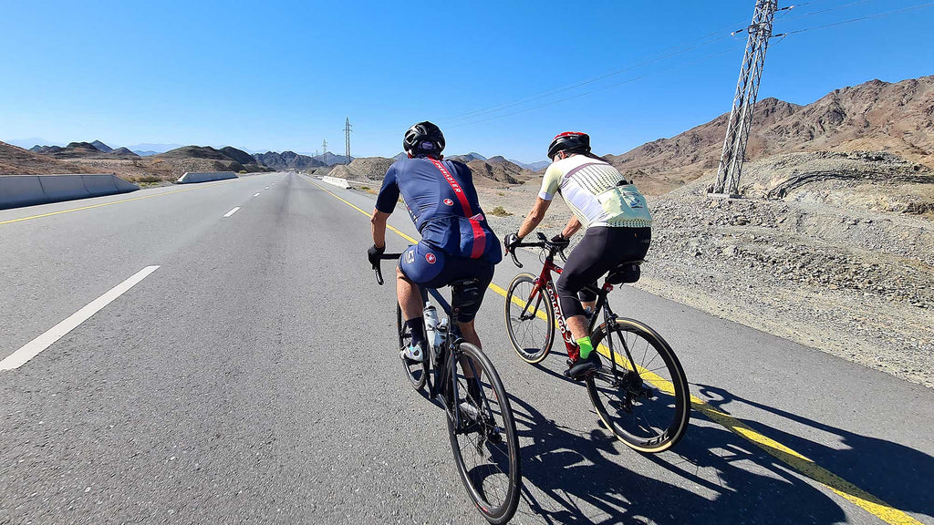 UAE Cycling - Munay to Kalba Loop