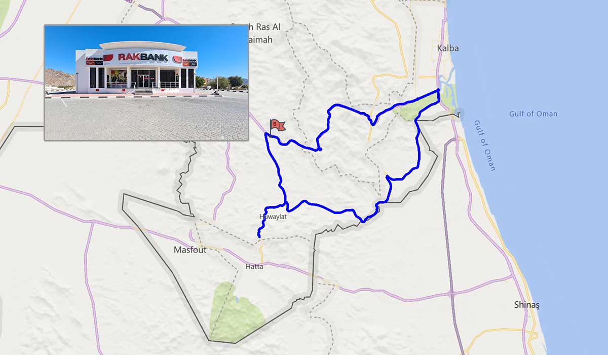 The route from Munay
