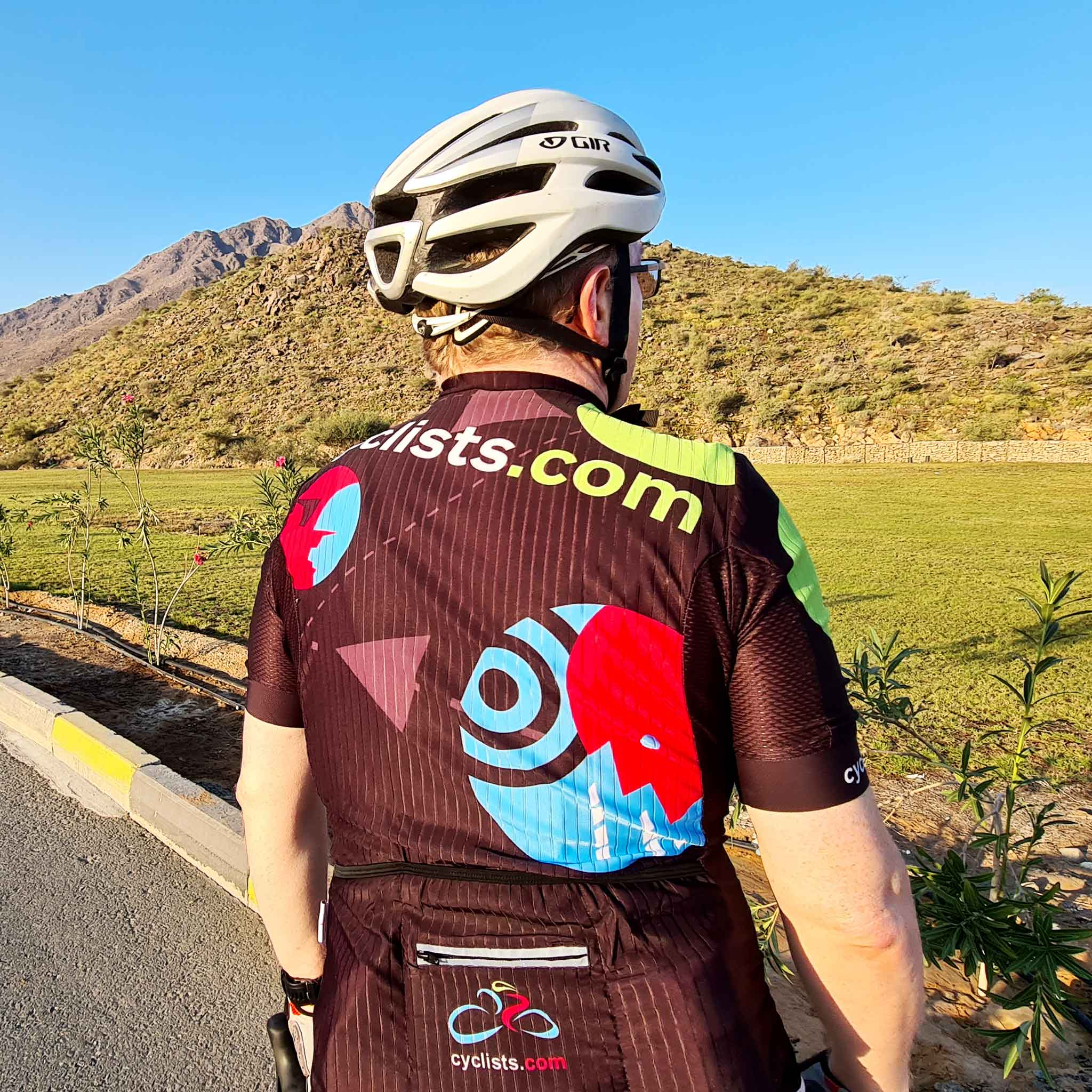 Rouleur Style Cyclists.com Team Jersey