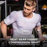 55% OFF-MEN'S COMPRESSION SHIRT