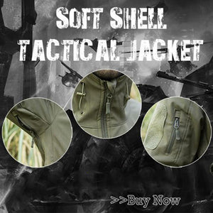 60% OFF-Outdoors Military Tactical Jacket