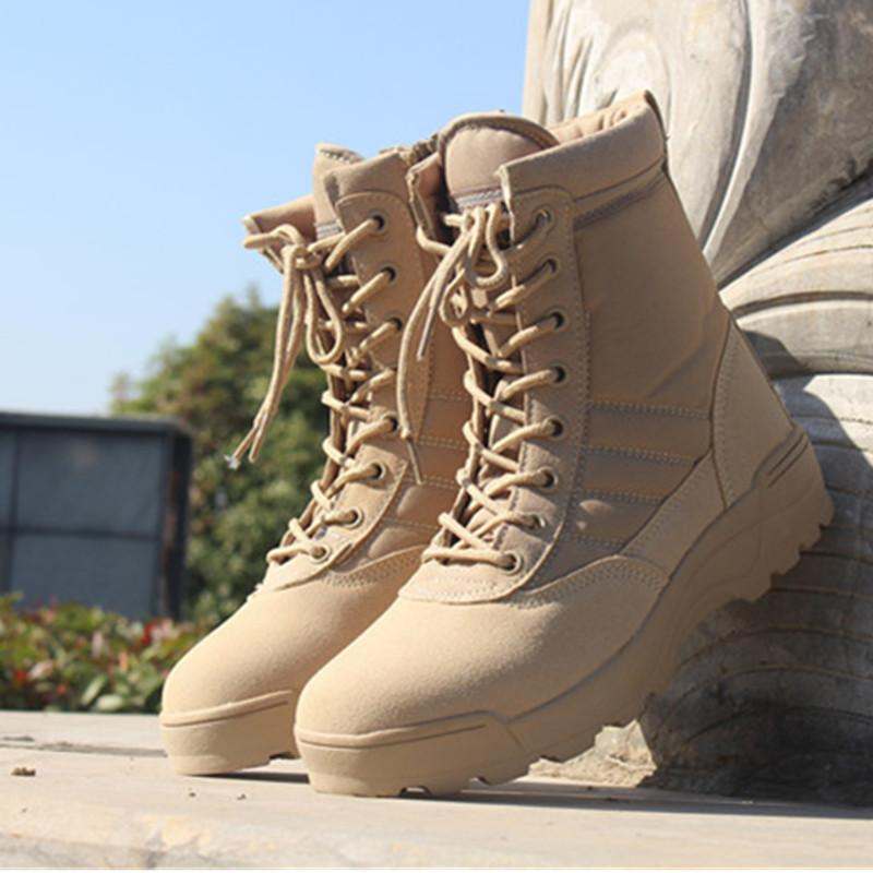 60 OFF%-Special Force Tactical Desert Combat Men's Ankle Boots