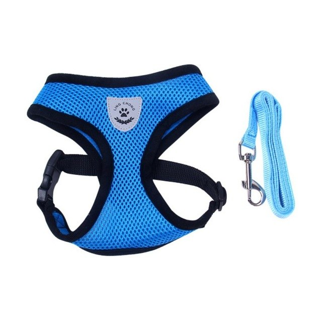 Breathable Harness with Leash - PawClothes