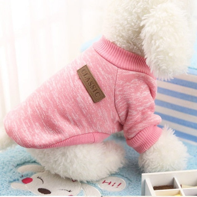 Classic Knit Sweater - PawClothes
