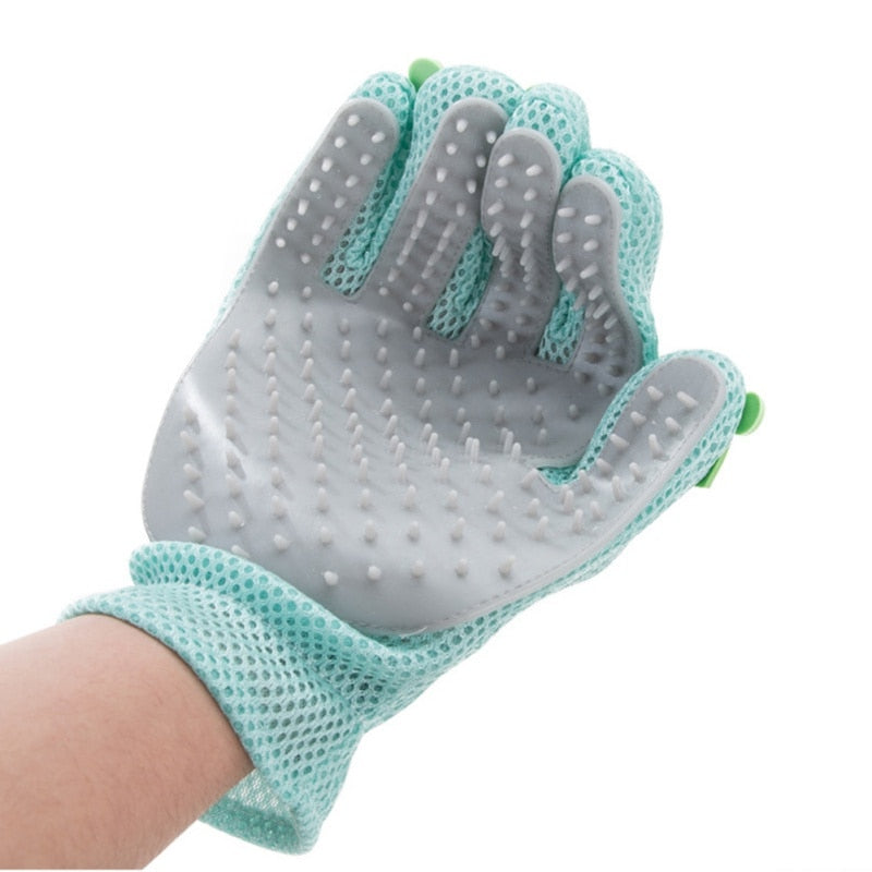 Silicone Pet Grooming Glove - PawClothes