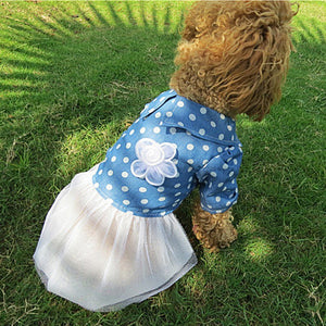 Flower Dress - PawClothes