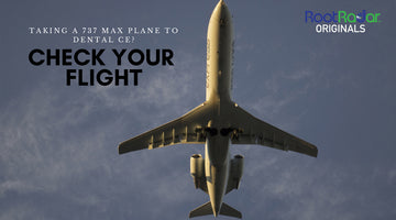 Worried about your flight to dental CE?