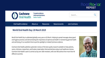 World Oral Health Day and an updated Cochrane Review