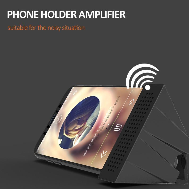 ECO Friendly Amplifier Phone Holder