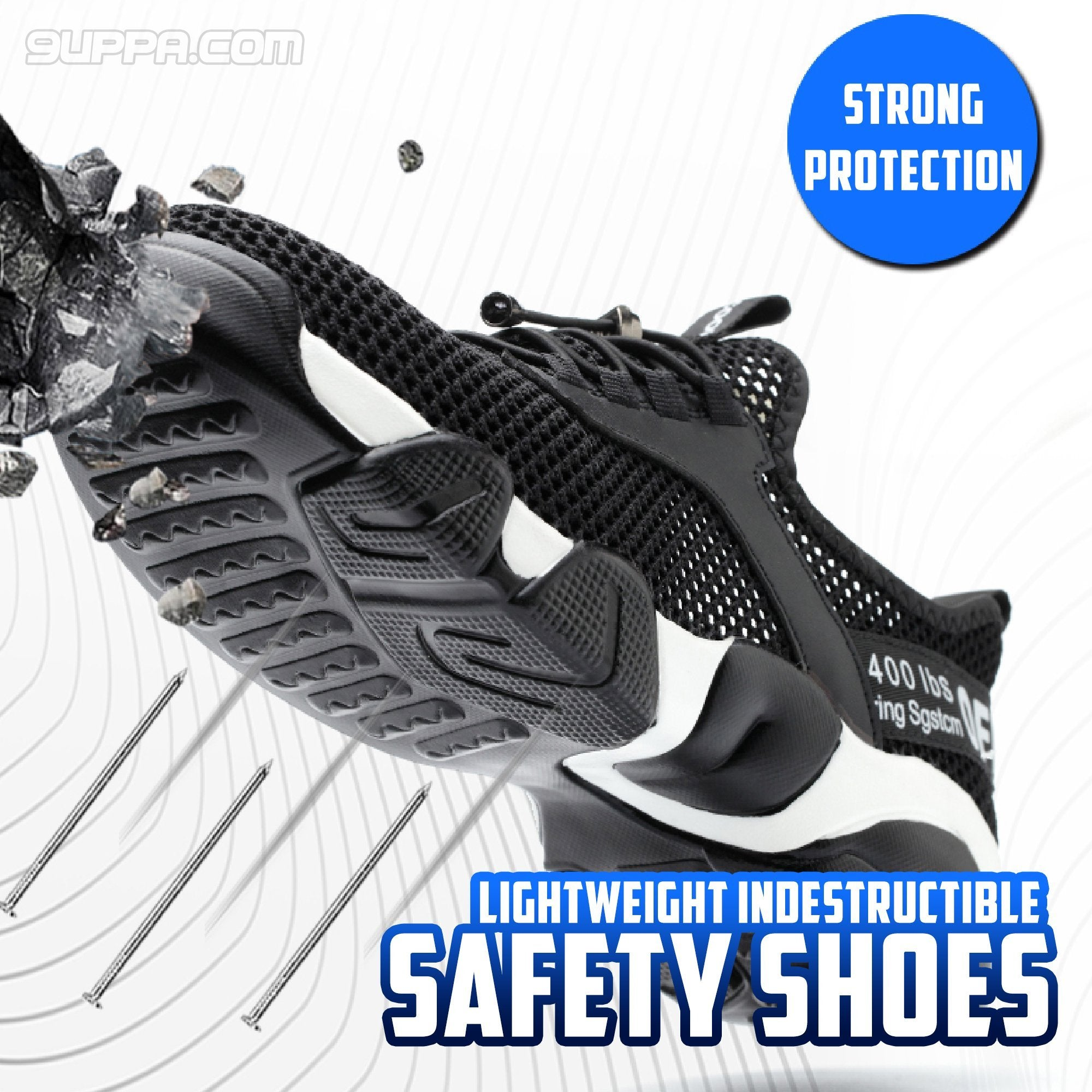 Lightweight Indestructible Safety Shoes