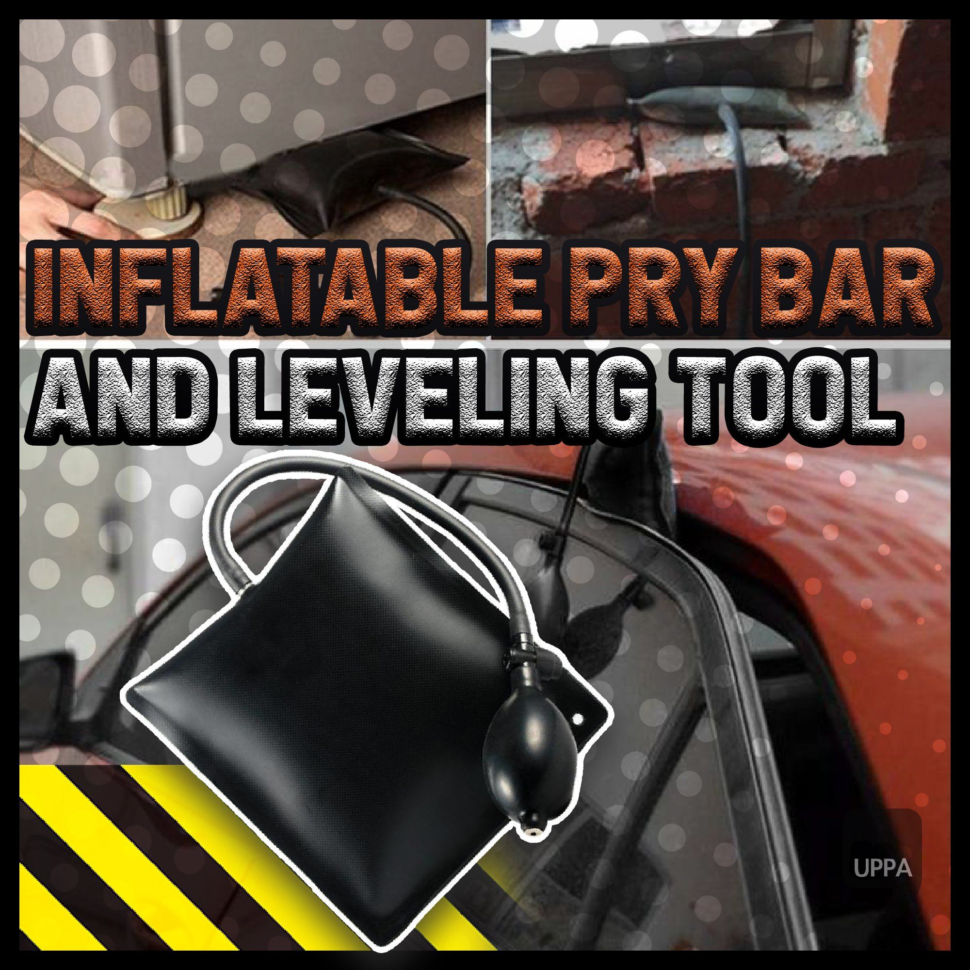 Inflatable Pry Bar and Leveling Tool
