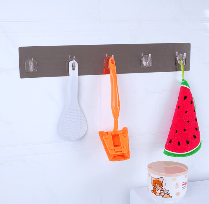 Magic Adhesive Waterproof Stainless Steel Hanger