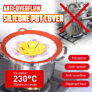 Anti-overflow Silicone Pot Cover