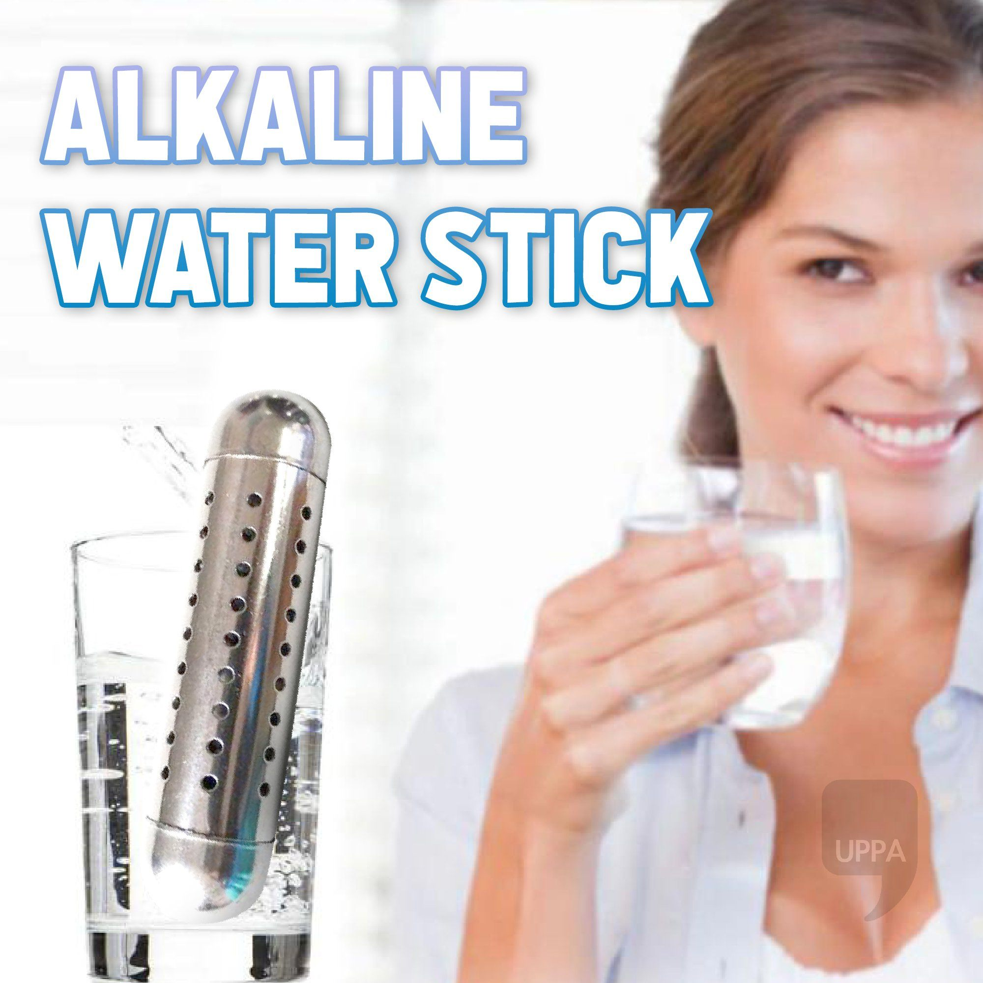 Alkaline Water Stick and Bottle