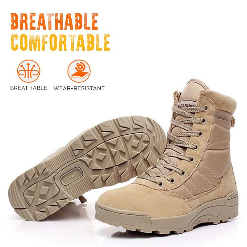 Full Protection Hiking Combat Boots
