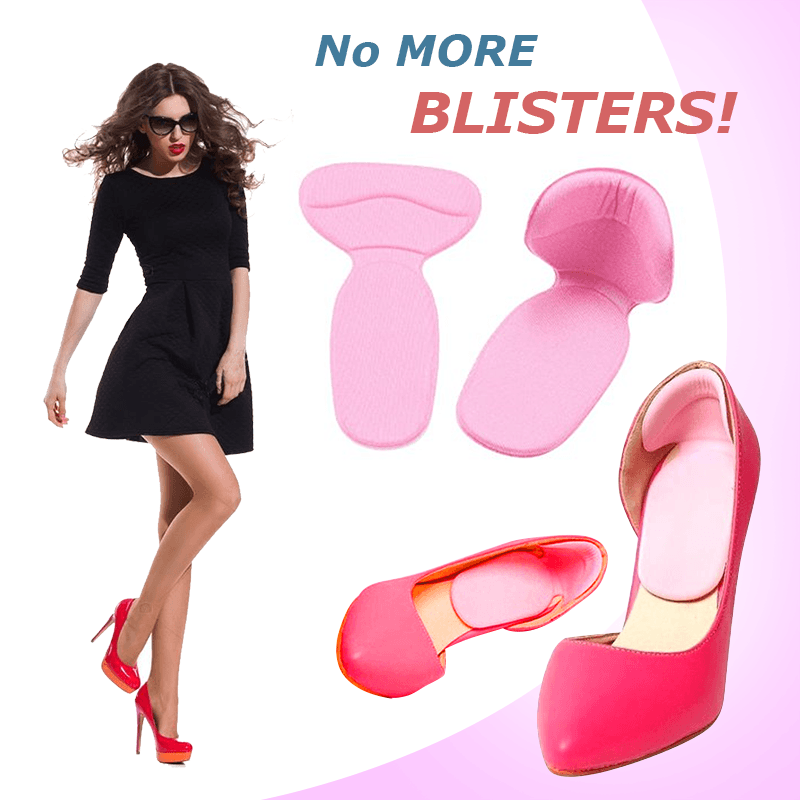 Anti-Blister Heel Cushions