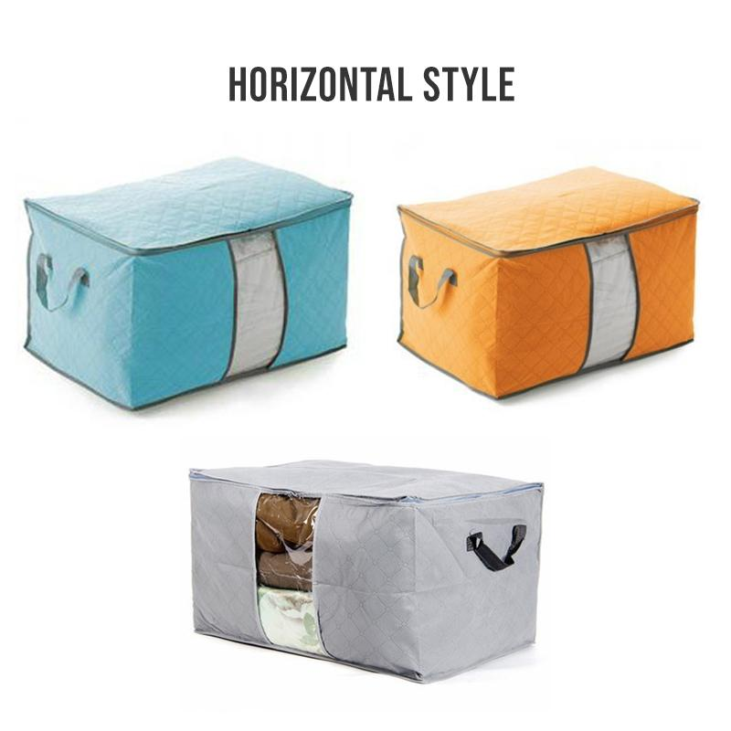 Foldable Clothes Storage Bag (3 PCS)