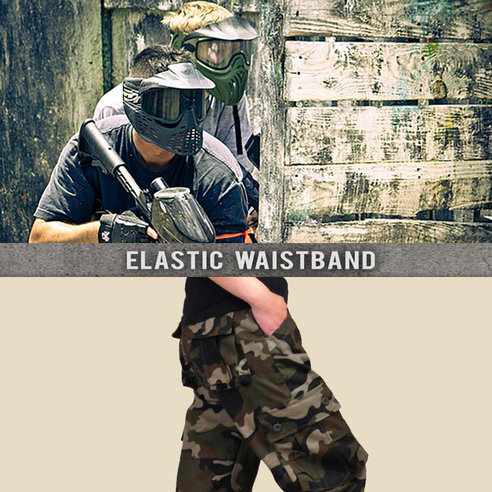 Camouflage Tactical Waterproof Pants