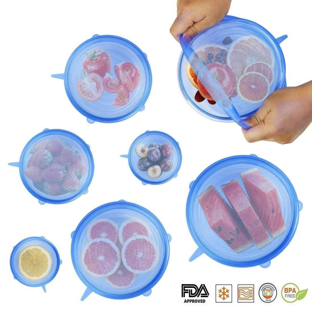 Ultimate Silicone Storage Covers - SET OF 6