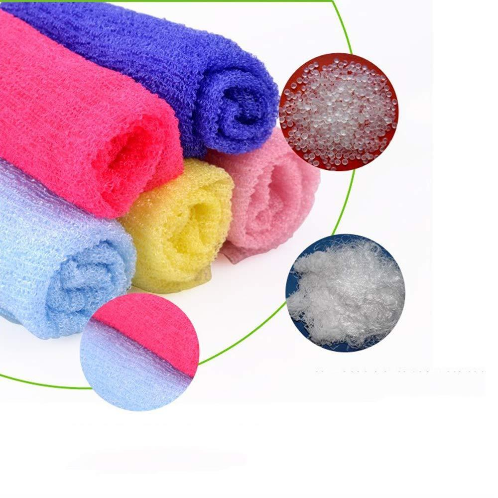Exfoliating Sauna Bath Towel 5pcs