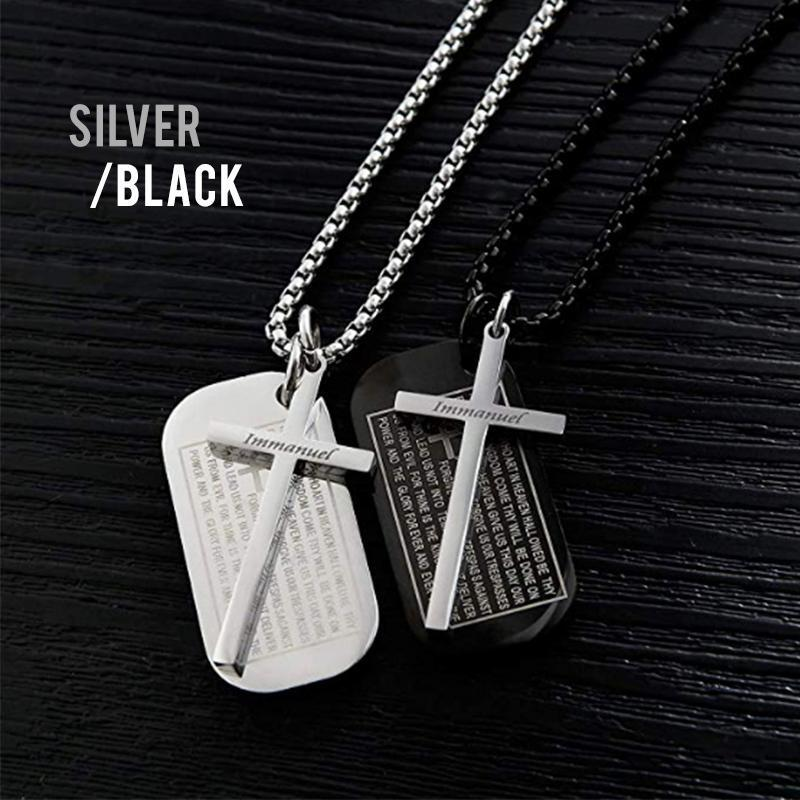 The Lord's Prayer Military Necklace