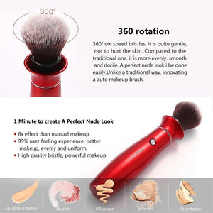 Multi-Functional Makeup Brushes