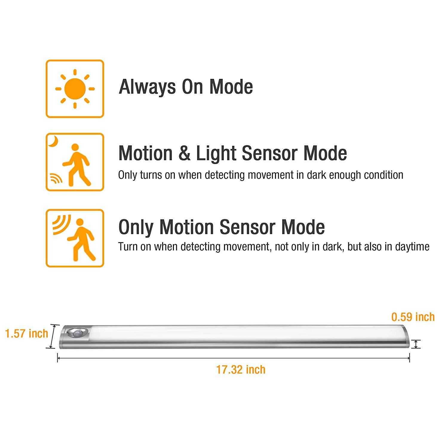 Premium Wireless Motion Sensor LED Light