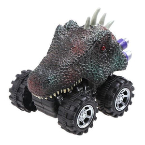 Pull And Go Mini Dinosaur Cars