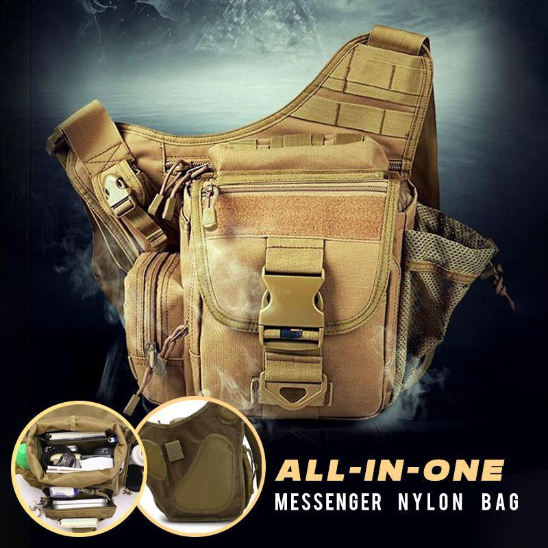 All-in-one Nylon Messenger Bag