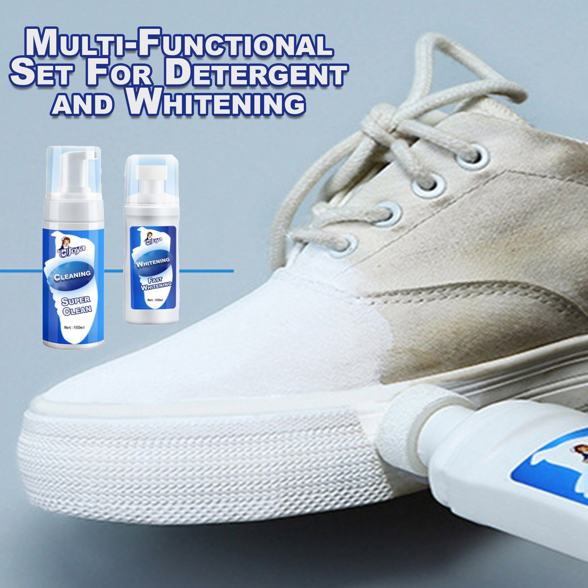Multi-Functional Set For Detergent and Whitening