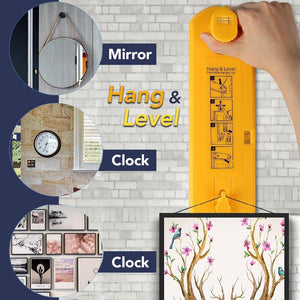 Wall Decoration Hang and Level Tool