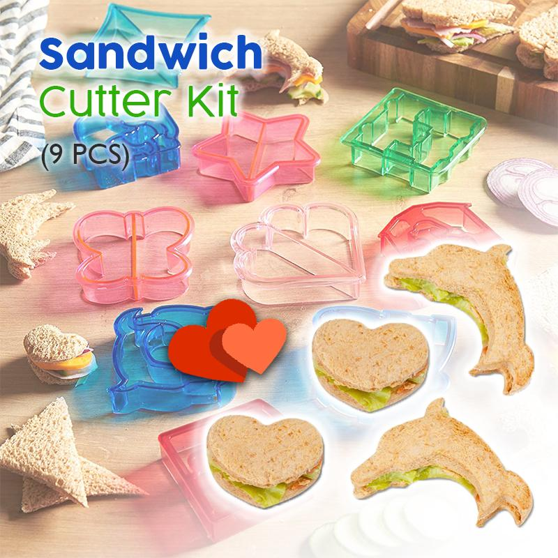 Sandwich Cutter Kit (9 PCS)