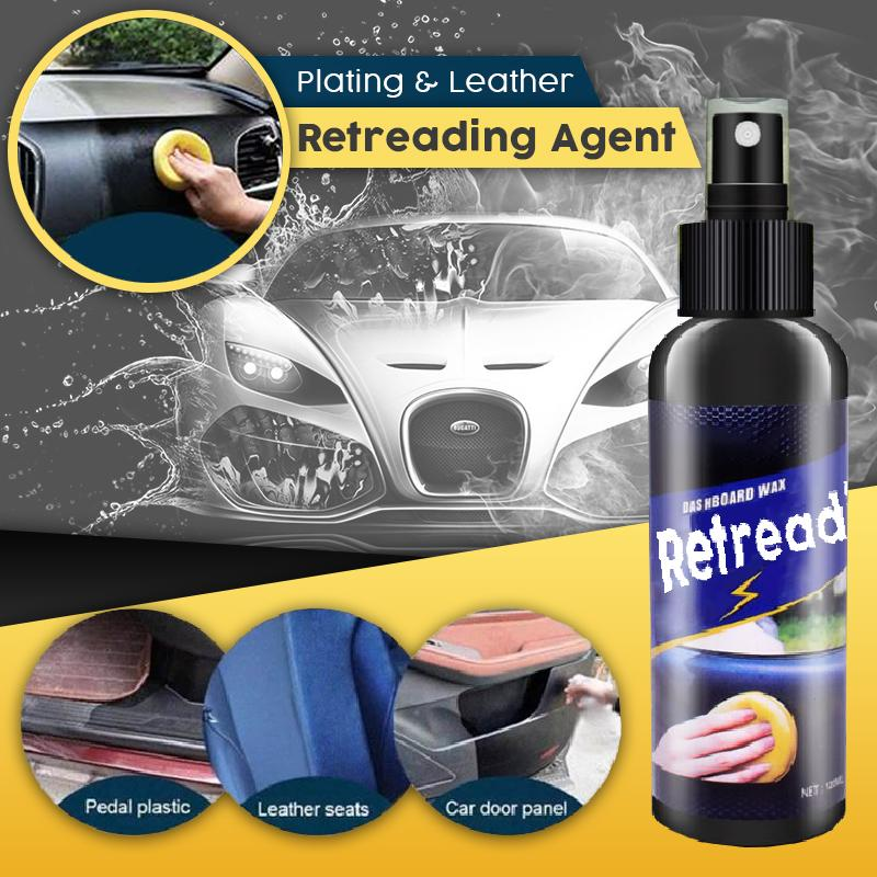 Plating Leather Retreading Agent