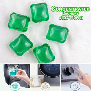 Concentrated Laundry Jelly 40pcs