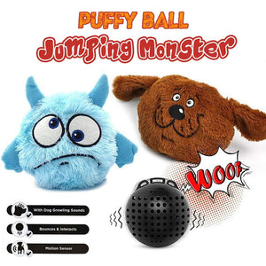 Puffy Jumping Monster Ball