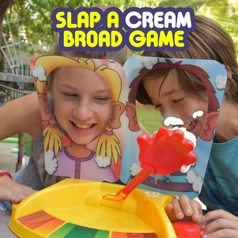 Slap a Cream Broad Game