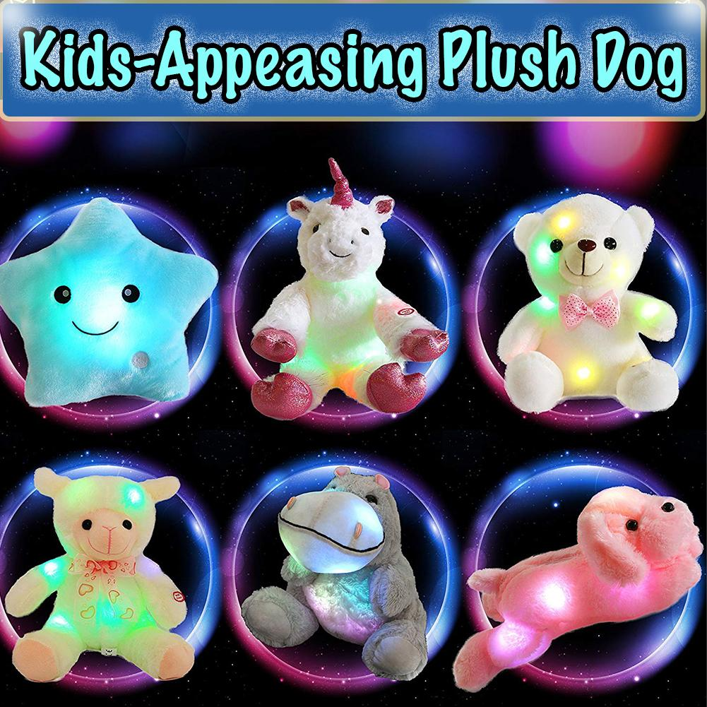 Kids-Appeasing Plush Dog