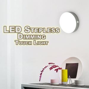LED Stepless Dimming Touch Light