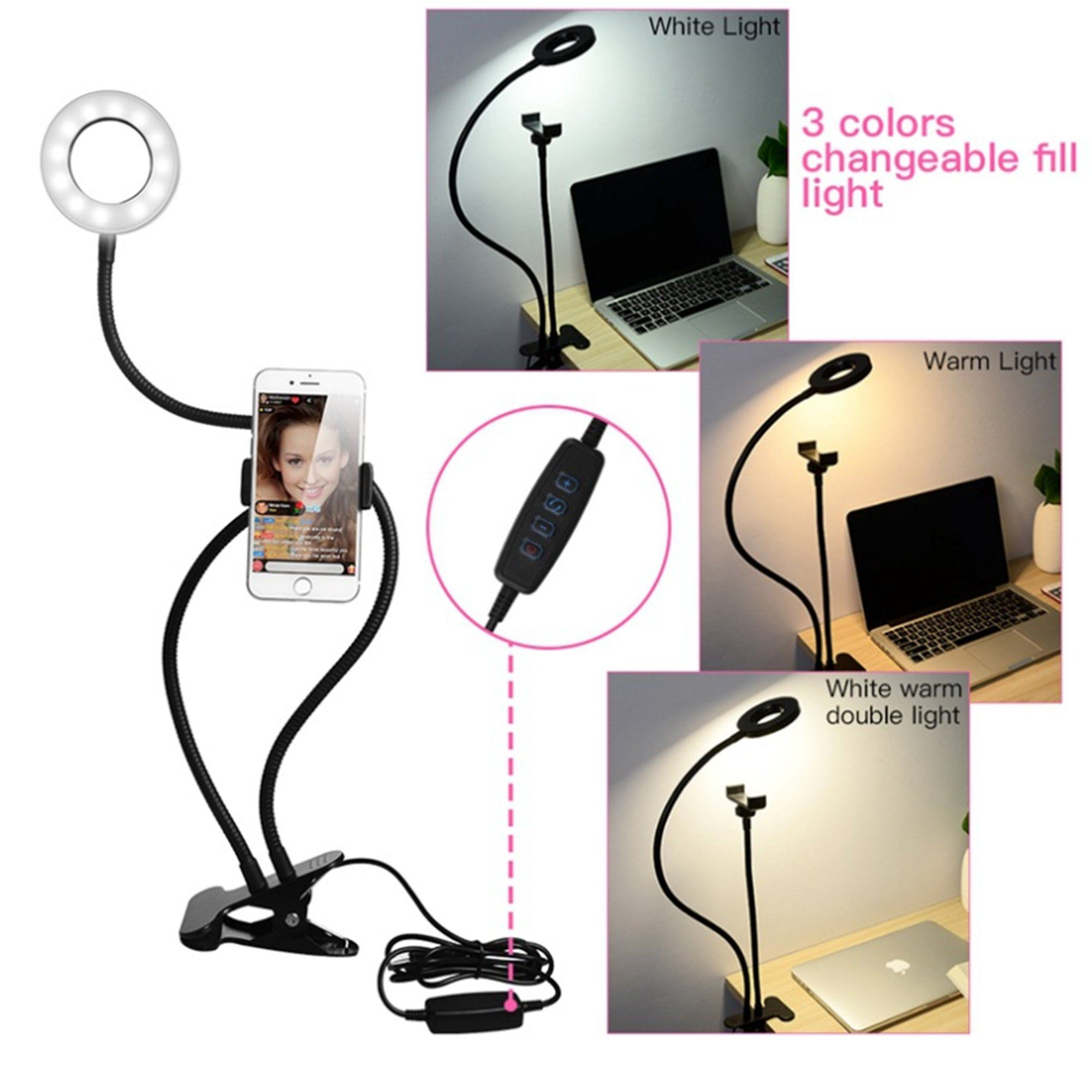 Multi-functional Selfie Light Stand