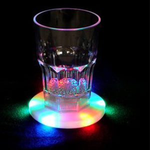 Crystal Ultra-thin LED Light Coaster