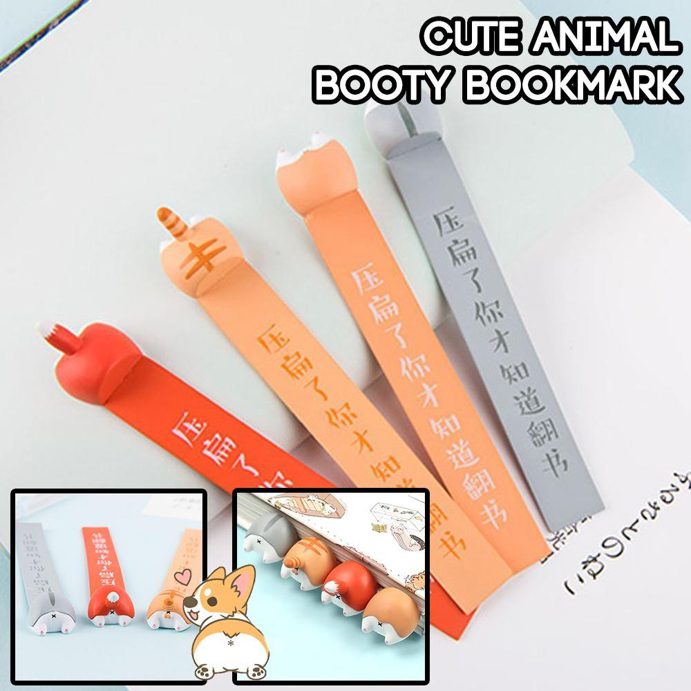 Cute Animal Booty Bookmark