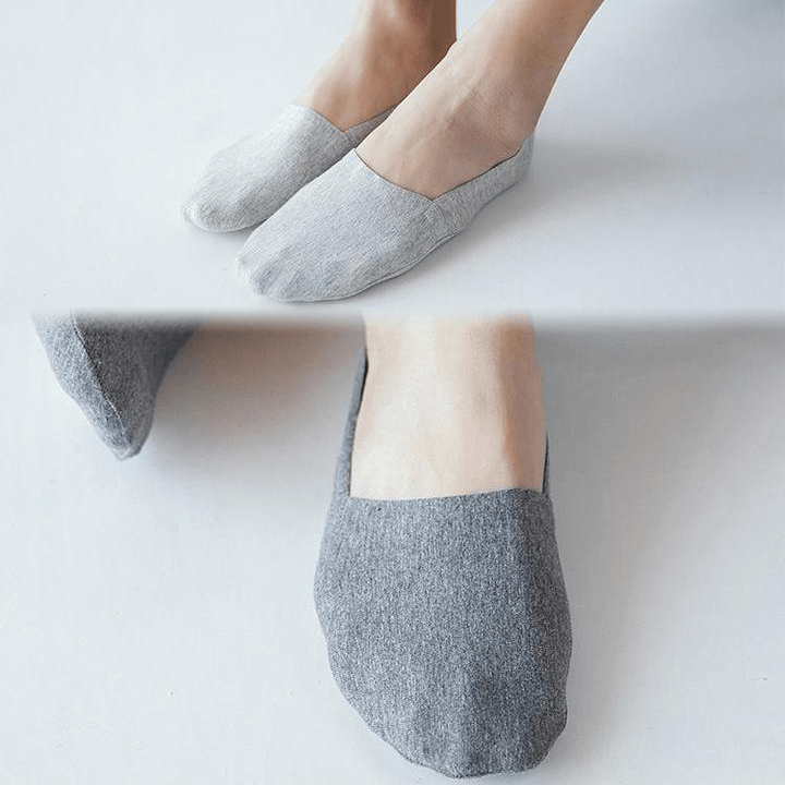 Anti-slip Silicone No Show Socks