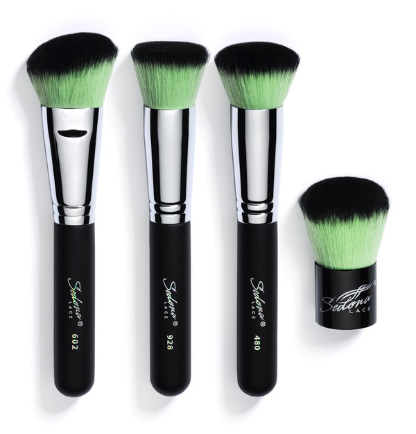 Mellow Mint Synthetic Brush Set