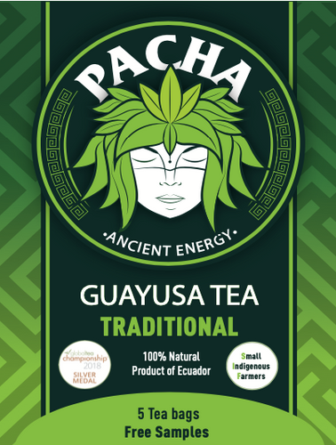 Guayusa Tea Bags Samples | FREE with coupon code FREESAMPLES | ($1.5 Shipping Only)